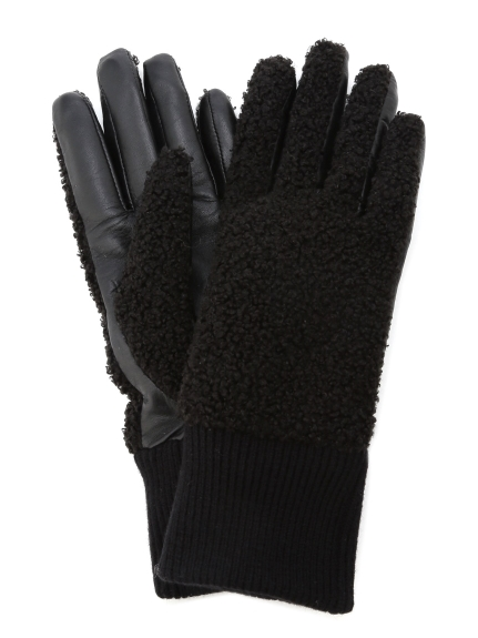 【UGG】FAUX SHERPA GLOVE BX(BLK-S/M)