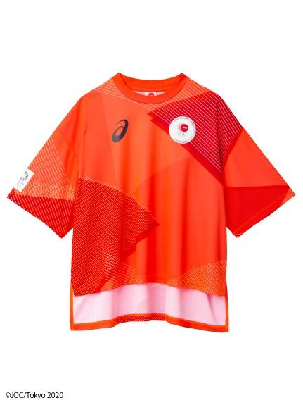 東京2020オリンピック日本代表選手団公式応援グッズ・TEAM RED COLLECTION Tシャツ MA(JOCエンブレム)