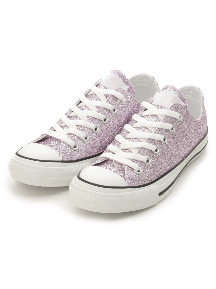 【CONVERSE】ALL STAR GLITTER OX(PNK-23.0)
