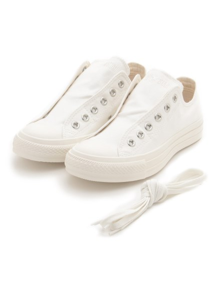 【CONVERSE】ALL STAR MILITARY SLIP OX(WHT-23.0)