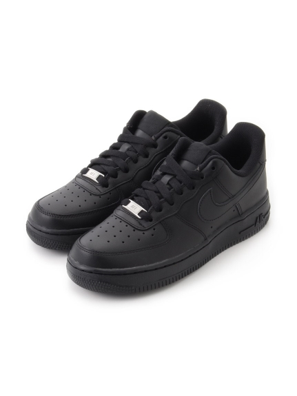 【NIKE】WMNS AIR FORCE 1 '07(BLK-22.5)