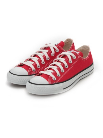【CONVERSE】CANVAS ALL STAR OX(RED-23.0)