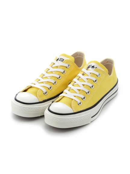 【CONVERSE】CANVAS ALL STAR J OX(YEL-23.0)