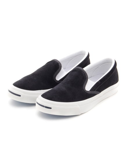 【CONVERSE】JACK PURCELL SUEDE SLIP-ON RH(NVY-23.0)