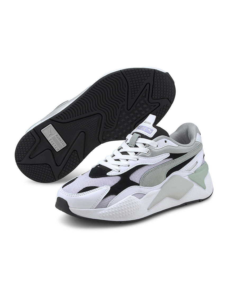 【PUMA】RS-X3 Layers Wn's(WHTxGRY-22.5)