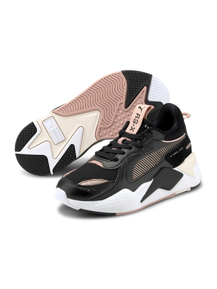【PUMA】RS-X Mono Metal Wn's(BLK-22.5)