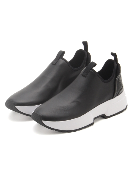 【MICHAEL KORS】COSMO STRETCH SLIP ON(BLK-23.0)