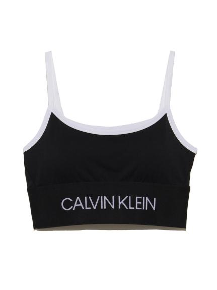 【Calvin Klein】MODULAR SPLITBK BRA(BLK-S)