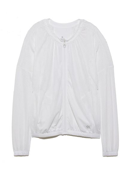 【Calvin Klein】SIGNATURE MESH JKT