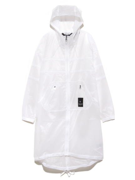【Calvin Klein】X Ray Hooded Wind Jacket(WHT-S)