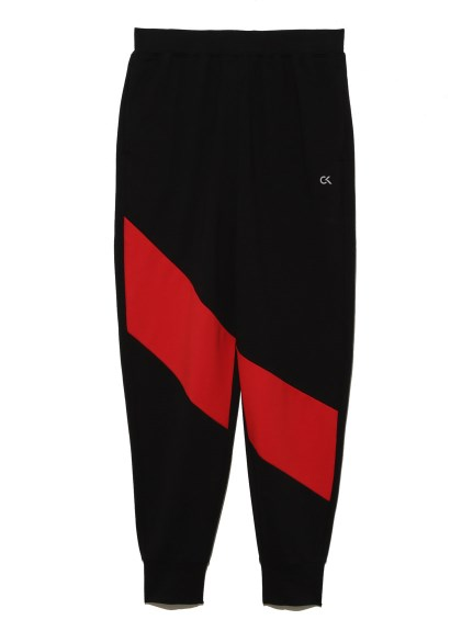 【Calvin Klein】Color Panel Cuffed Sweat Pants