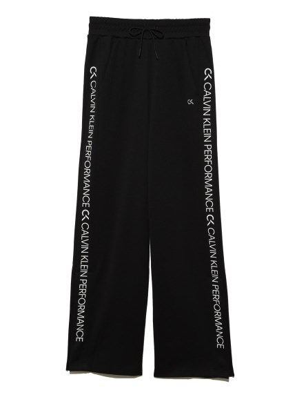【Calvin Klein】Side Panel Knit Pants(BLK-S)