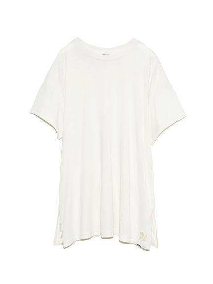 【PUMA for emmi】T-Shirt_emmi atelier(WHT-F)