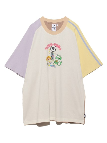 【PUMA】PUMA X KS COLORBLOCK TEE