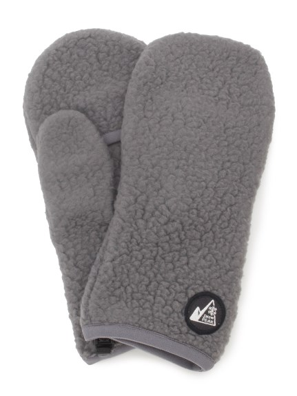 【Snowpeak】MM Thermal Boa Fleece Mittens(GRY-F)