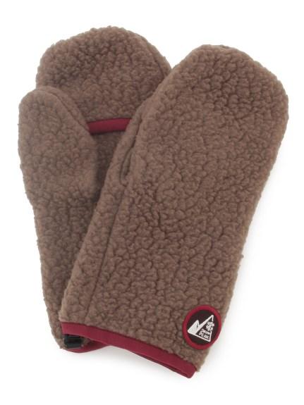 【Snowpeak】MM Thermal Boa Fleece Mittens(BRW-F)