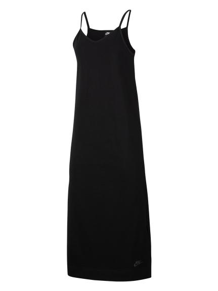 【NIKE】AS W NSW DRESS JRSY(BLK-S)