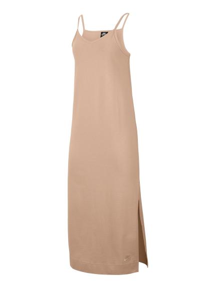 【NIKE】AS W NSW DRESS JRSY(BEG-S)