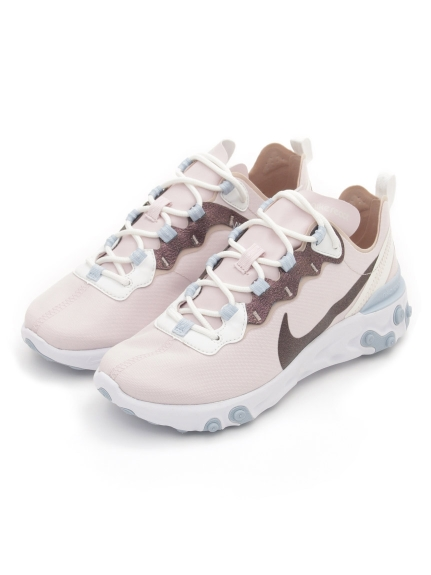 【NIKE】W NIKE REACT ELEMENT 55 SE(PNK-23.0)
