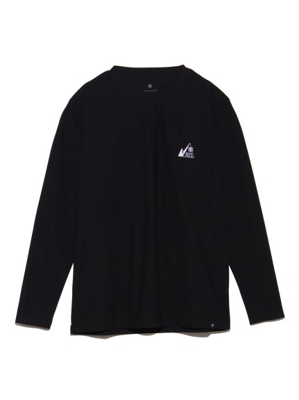 【Snowpeak】MM Mountain Logo L/S Tee