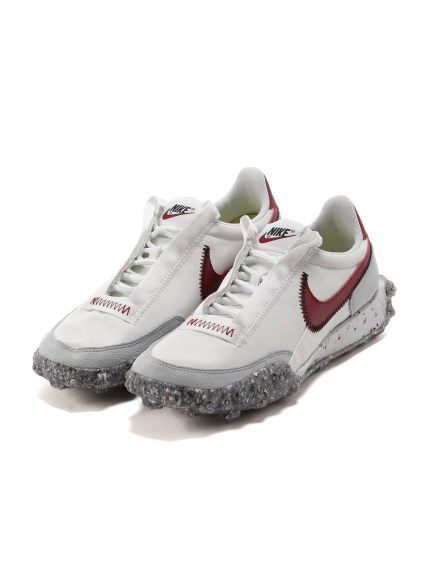 【NIKE】NIKE WAFFLE RACER CRATER(WHTxRED-23.0)