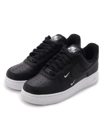 【NIKE】WMNS AIR FORCE 1 '07 ESS(BLK-22.5)
