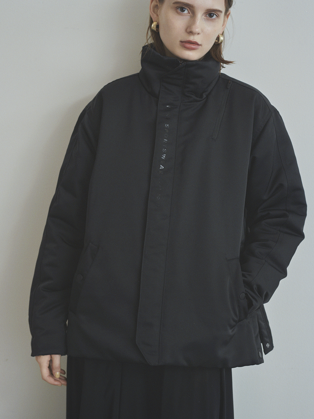 【NIKE meets emmi】AS W NSW SYN JKT TREND(BLK-S)