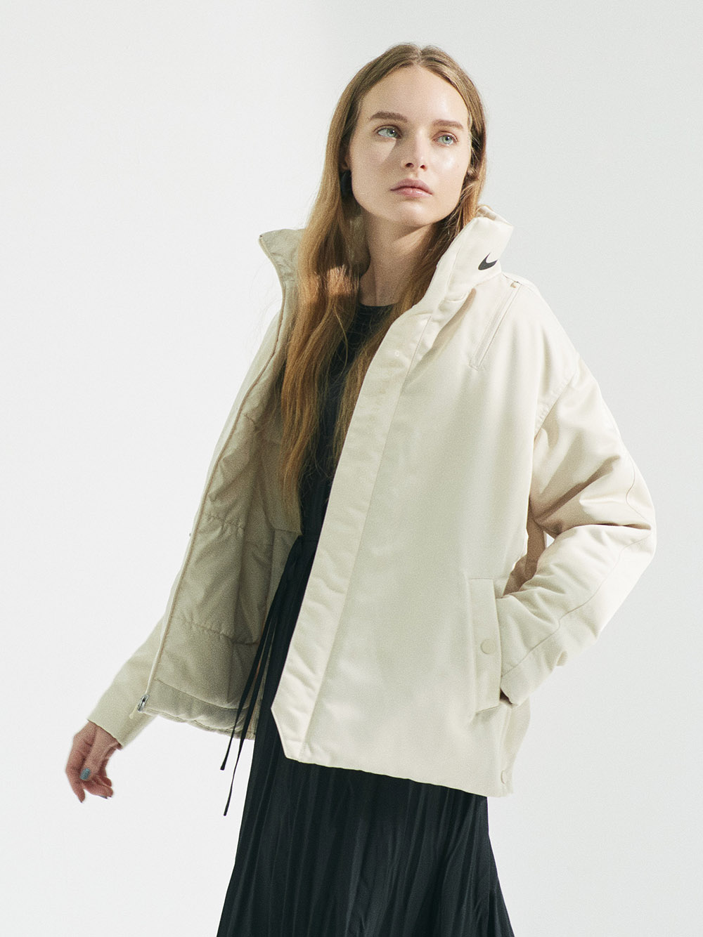 【NIKE meets emmi】AS W NSW SYN JKT TREND(OWHT-S)