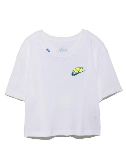 【NIKE】ナイキ ウィメンズ ワールドワイド 2 クロップ Tシャツ(WHT-S)