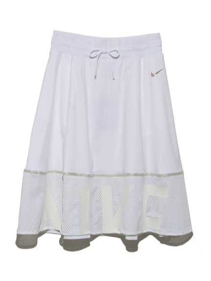 【NIKE】AS W MESH GEL SKIRT(WHT-S)