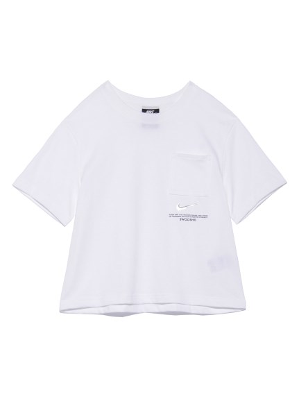 【NIKE】AS W NSW SWSH SS TOP(WHT-S)