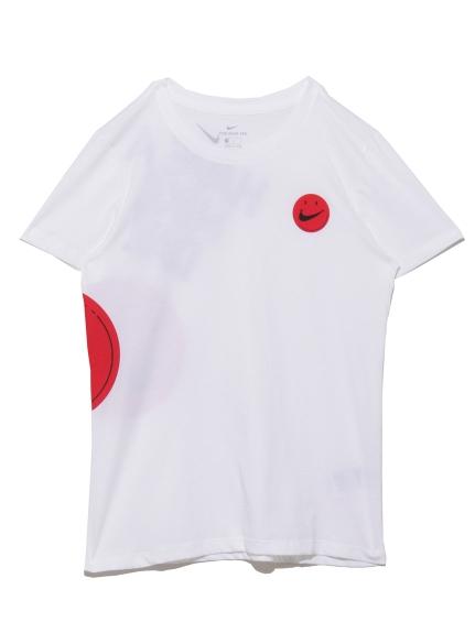 【NIKE】ナイキ ウィメンズ GEL S/S Tシャツ(WHT-S)