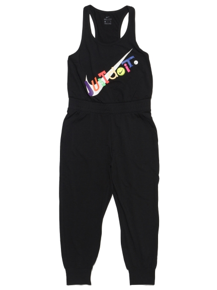 【NIKE】ナイキ ウィメンズ GEL ヨガ 7/8 ジャンプスーツ(BLK-S)