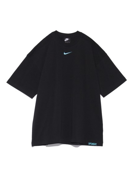 【NIKE】AS W NSW ICN CLSH TOP SS OS(BLK-S)