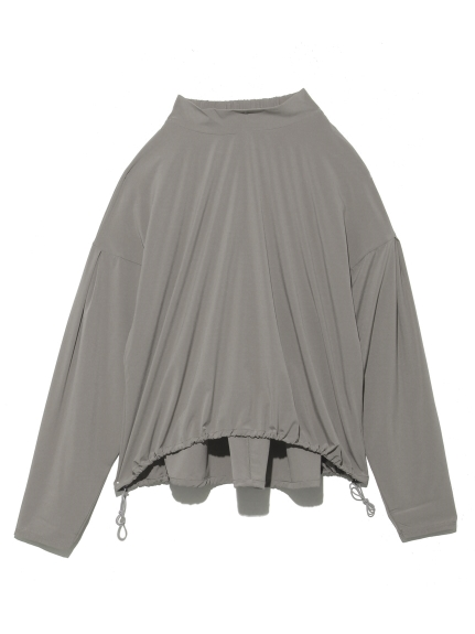 【DANSKIN】YOGI CLOTH FLARE TOP(GRY-M)