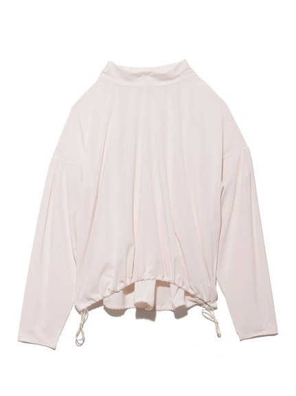 【DANSKIN】YOGI CLOTH FLARE TOP(WHT-M)