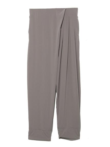 【DANSKIN】YOGI CLOTH TUCKED PANTS(GRY-M)