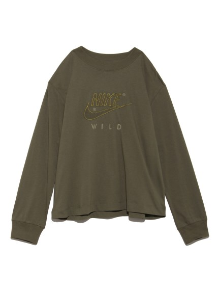 【NIKE】AS W NSW TOP LS NW(OLV-S)