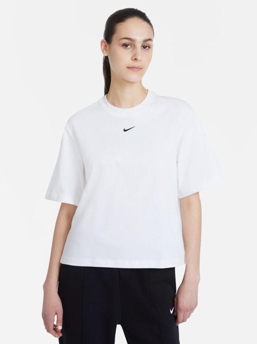 【NIKE】NSW エッセンシャル ボクシー LBR S/S Tシャツ(WHT-S)
