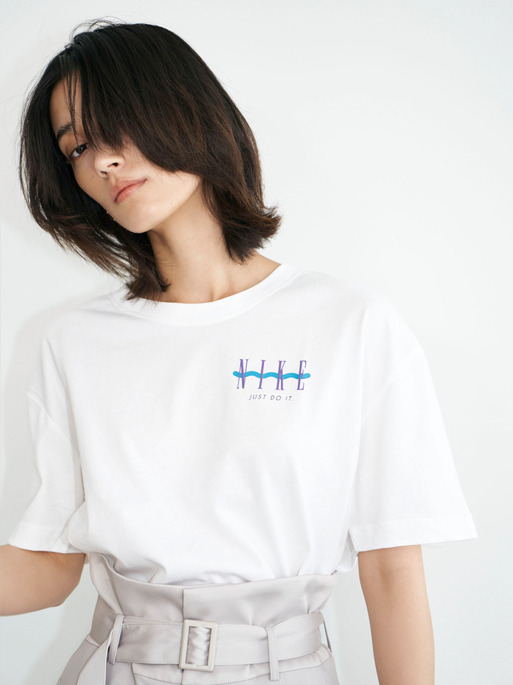 【NIKE】NSW ボーイ ヴィンテージ S/S Tシャツ(WHT-S)