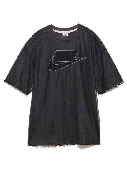 【NIKE】NSW チュール S/S トップ(BLK-S)