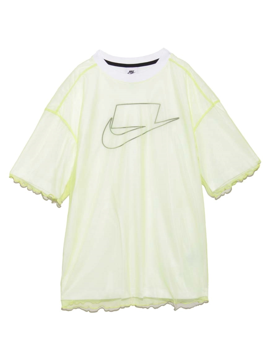 【NIKE】NSW チュール S/S トップ(LIME-S)