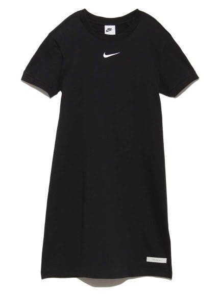 【NIKE】NSW アイコン クラッシュ S/S ドレス(BLK-S)