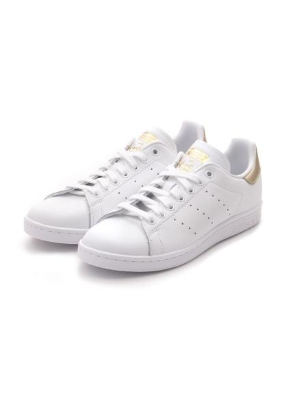 【adidas Originals】STAN SMITH W(WHTxGLD-22.5)