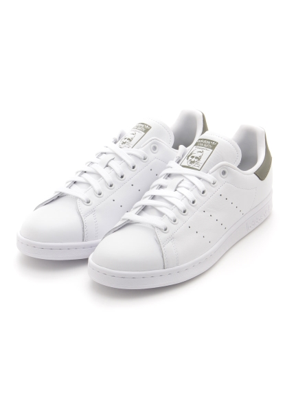 【adidas Originals】STAN SMITH(WHTxKKI-22.5)