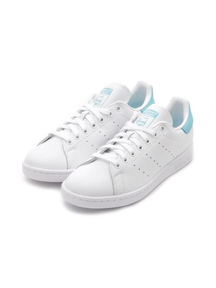【adidas Originals】STAN SMITH(WHTxLBLU-22.5)