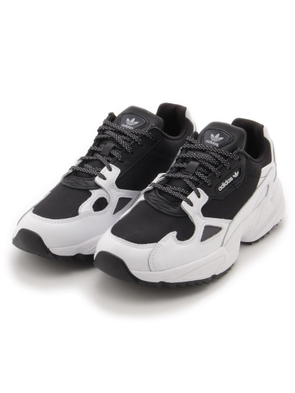 【adidas Originals】ADIDASFALCON TRAIL W(BLKxWHT-23.0)