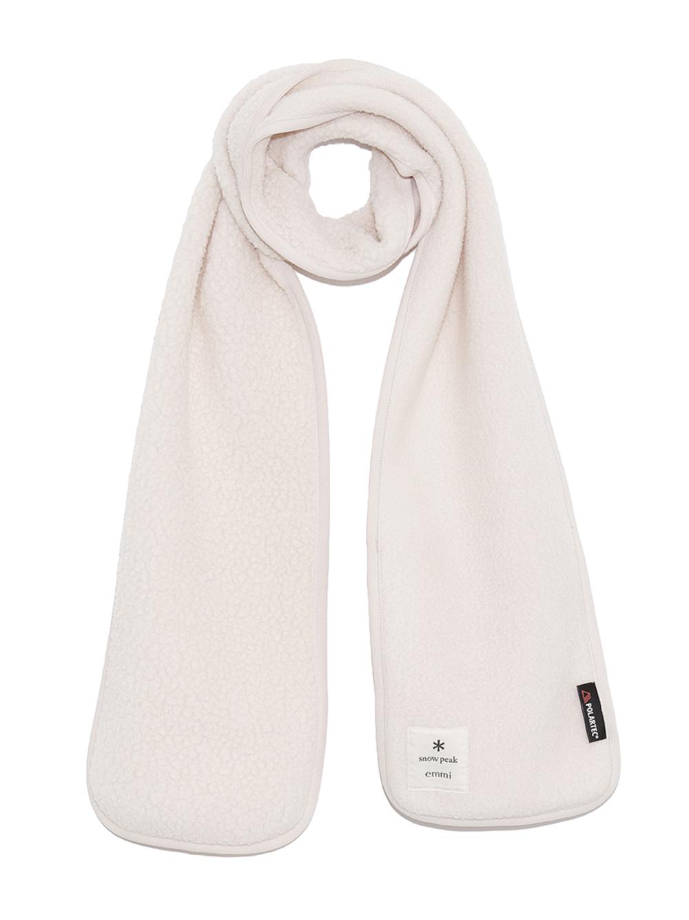 【emmi×Snowpeak】Thermal Boa Fleece Stole(BEG-F)