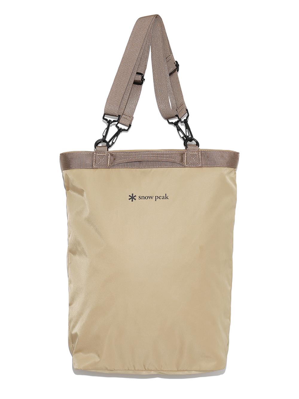 【emmi×Snowpeak】2way Tote Bag(BEG-F)