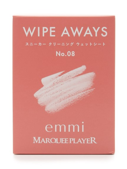 【MARQUEE PLAYER】WIPE AWAYS No.08/emmi(PNK-F)